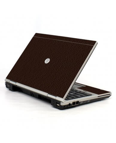 Brown Leather 2570P Laptop Skin