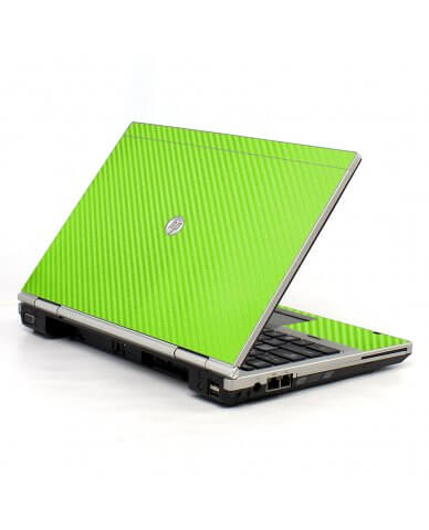 Green Carbon Fiber 2570P Laptop Skin