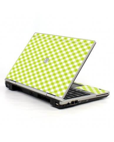 Green Checkered 2570P Laptop Skin