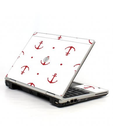 Red Anchors 2570P Laptop Skin