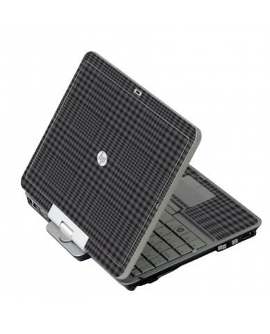 Black Plaid 2740P Laptop Skin