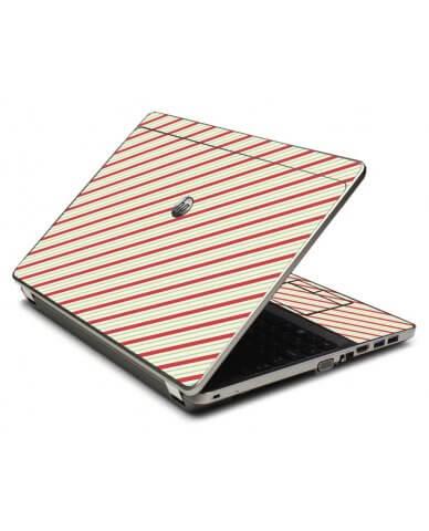 Circus Stripes 4535S Laptop Skin