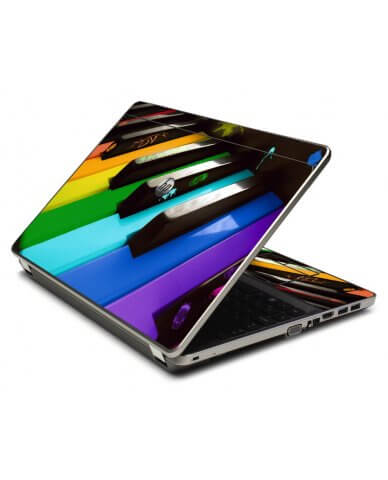 Colorful Piano 4535S Laptop Skin