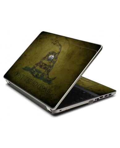 Green Dont Tread Flag 4535S Laptop Skin