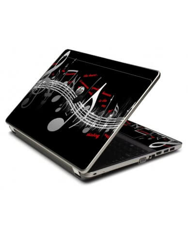 Music Notes 4535S Laptop Skin