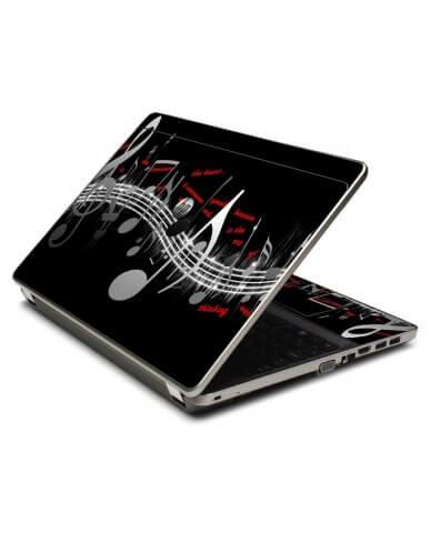 Music Notes 4535S Laptop Skin