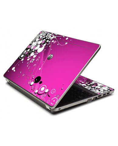 Pink Flowers 4535S Laptop Skin