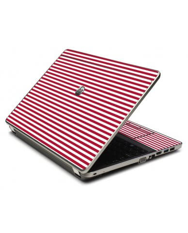 Red Stripes 4535S Laptop Skin