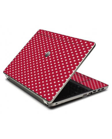 Red White Stars 4535S Laptop Skin