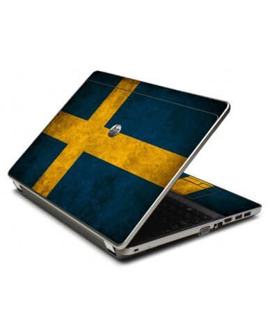 Swedish Flag 4535S Laptop Skin