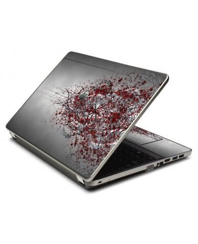 Tribal Grunge 4535S Laptop Skin