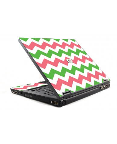 Green Pink Chevron 6510B Laptop Skin