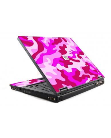 Pink Camo 6510B Laptop Skin