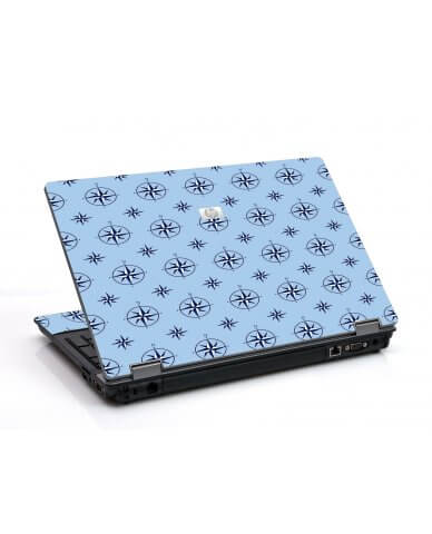 Nautical Blue 6530B Laptop Skin