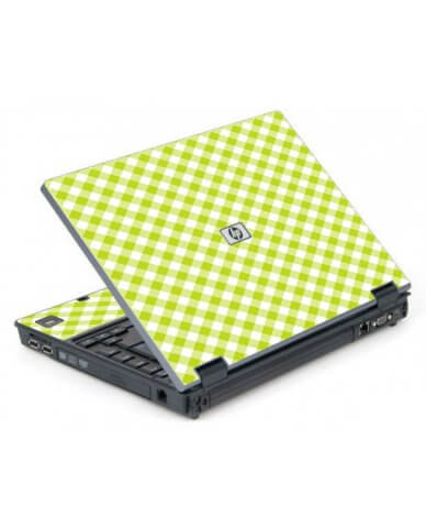 Green Checkered 6710B Laptop Skin