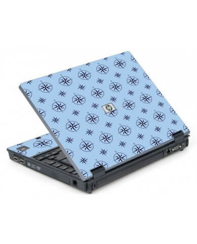 Nautical Blue 6710B Laptop Skin