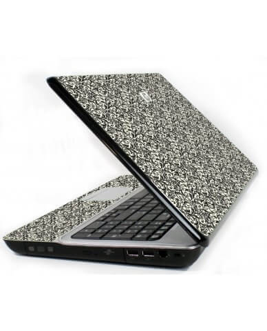 Black Versailles 6720S Laptop Skin