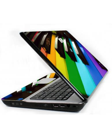 Colorful Piano 6720S Laptop Skin