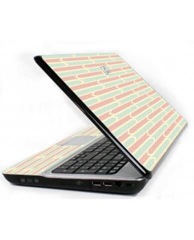 Crazy Circus Stripes 6720S Laptop Skin