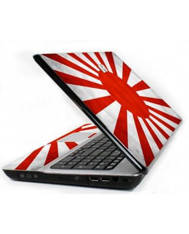 Japanese Flag 6720S Laptop Skin