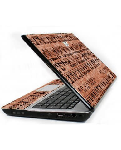 Latin Sheet Music 6720S Laptop Skin