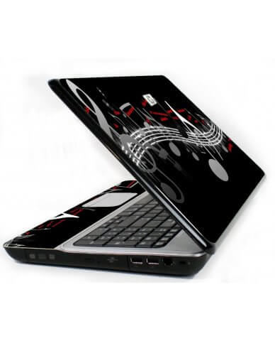 Music Notes 6720S Laptop Skin