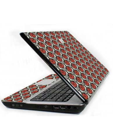 Red Black 5 6720S Laptop Skin