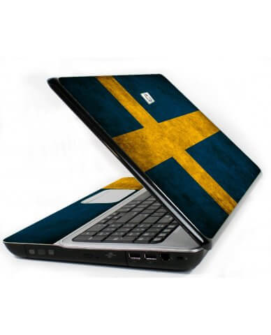 Swedish Flag 6720S Laptop Skin