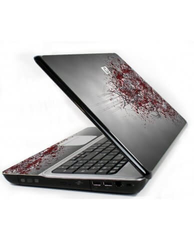 Tribal Grunge 6720S Laptop Skin