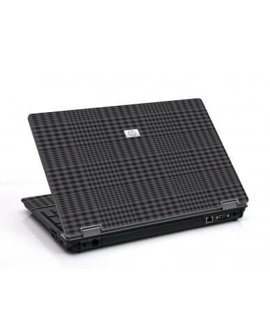 Black Plaid 6730B Laptop Skin