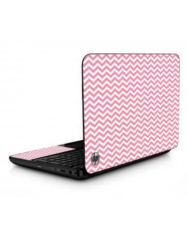 Pink Chevron Waves HPG6 Laptop Skin