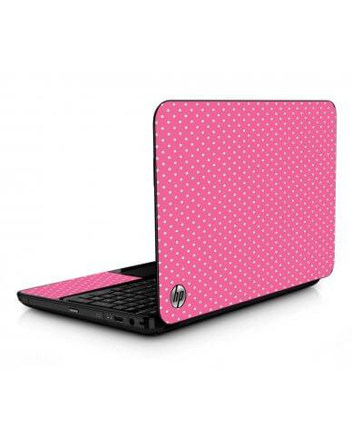 Purple Polka Dot HPG6 Laptop Skin
