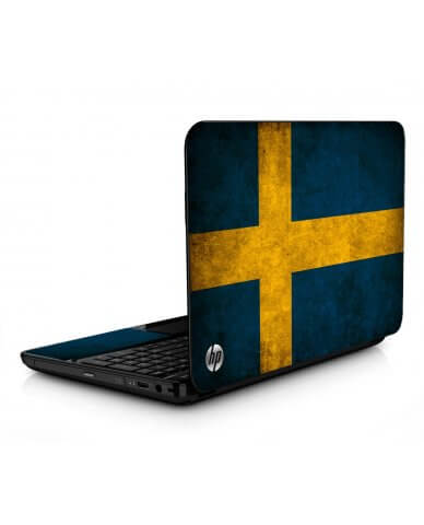 Swedish Flag HPG6 Laptop Skin
