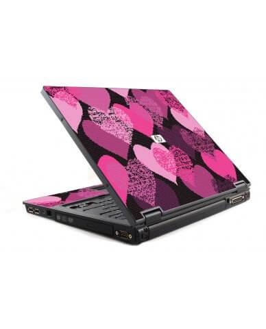 Pink Mosaic Hearts 6510B Laptop Skin