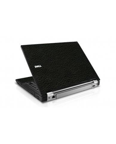 Black Leather Dell E4300 Laptop Skin