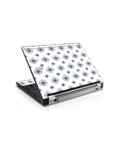 Nautical Dell E4300 Laptop Skin