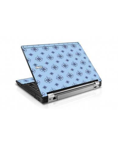 Nautical Blue Dell E4300 Laptop Skin