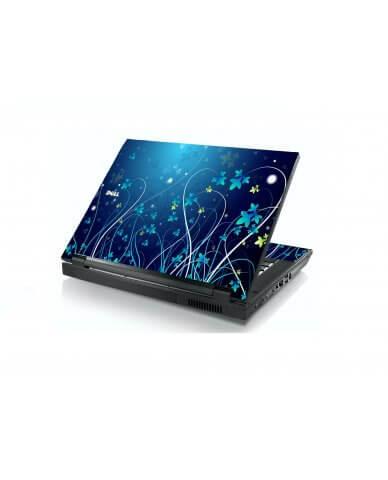 Blue Flowers Dell E5400 Laptop Skin