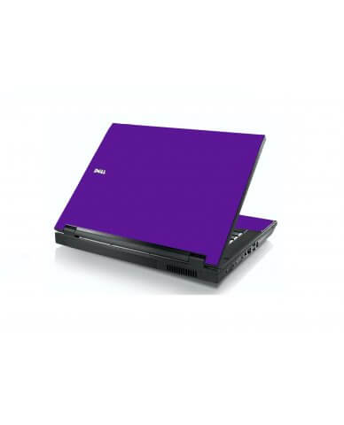 Purple Dell E5400 Laptop Skin