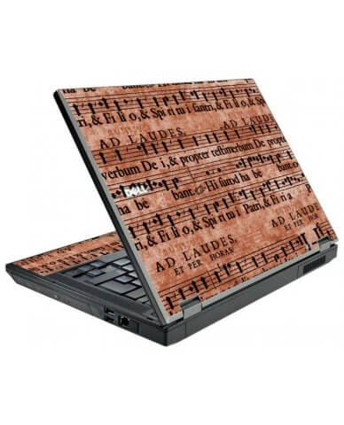 Latin Sheet Music Dell E5410 Laptop Skin