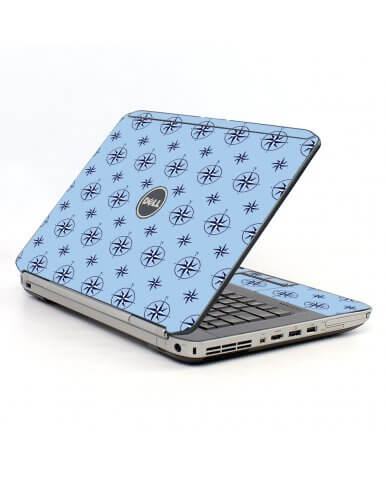 Nautical Blue Dell E5420 Laptop Skin