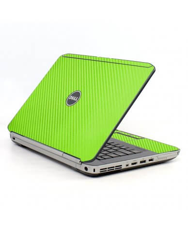 Green Carbon Fiber Dell E5430 Laptop Skin