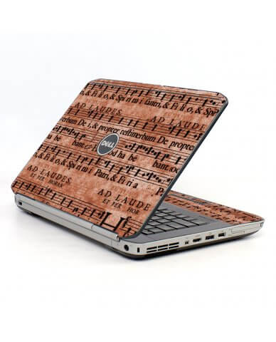 Latin Sheet Music Dell E5430 Laptop Skin