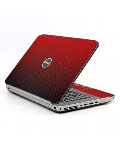 Red Carbon Fiber Dell E5430 Laptop Skin