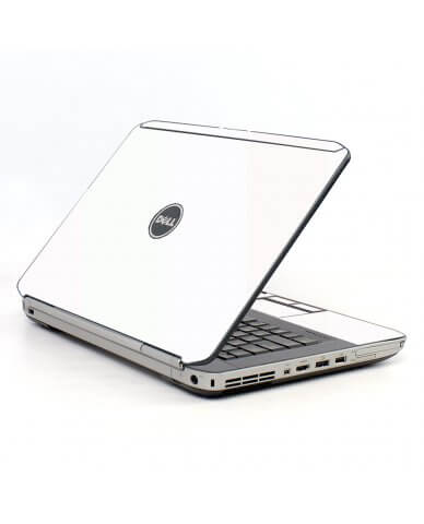 White Dell E5430 Laptop Skin