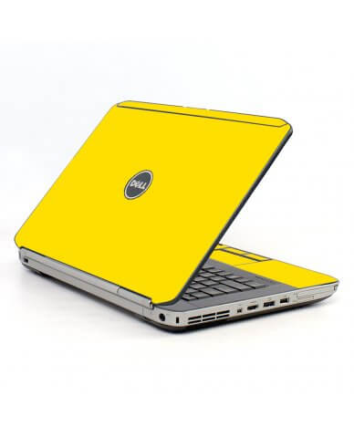 Yellow Dell E5430 Laptop Skin