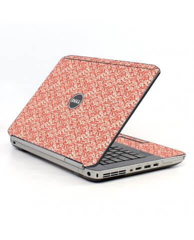 Pink Versailles Dell E5520 Laptop Skin