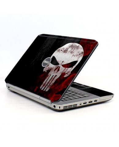 Punisher Skull Dell E5520 Laptop Skin