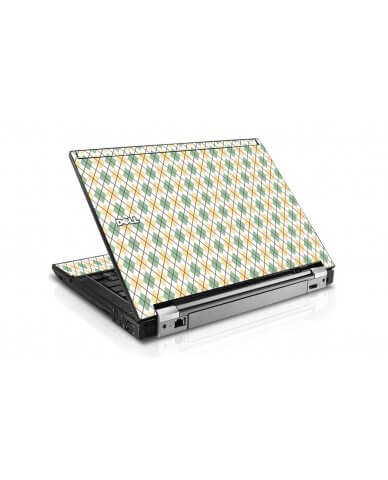 Argyle Dell E6410 Laptop Skin