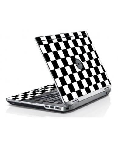 Checkered Dell E6420 Laptop Skin